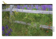 New Hampshire Wildflowers Carry-all Pouch