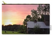 New Jersey Barn Sunset Carry-all Pouch