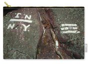 New Jersey New York State Line Of The Appalachian Trail Carry-all Pouch