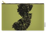 New Jersey Typographic Map 4a Carry-all Pouch