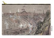 New Jersey, Weehawken.  Carry-all Pouch