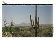 New Mexican Desert Carry-all Pouch