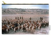 New Mexico Cattle Drive Carry-all Pouch