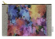 New Mexico Map Color Splatter 5 Carry-all Pouch