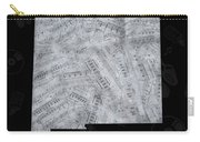 New Mexico Map Music Notes 2 Carry-all Pouch