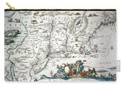 New Netherland Map Carry-all Pouch