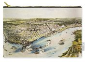 New Orleans, 1851 Carry-all Pouch by Granger