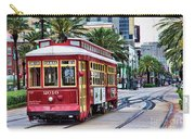 New Orleans Canal Streetcars  Carry-all Pouch
