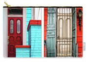 New Orleans Doorways Diptych One Carry-all Pouch