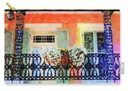 New Orleans French Quarter Balcony Carry-all Pouch