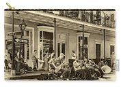 New Orleans Jazz 2 - Sepia Carry-all Pouch