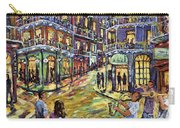 New Orleans Jazz Night By Prankearts Fine Art Carry-all Pouch