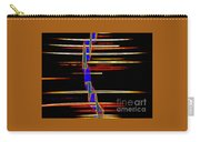 New Orleans Neon Frequency Native American Indan Abstract 3 Carry-all Pouch