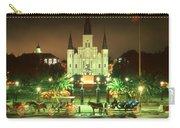 New Orleans Night Photo - Saint Louis Cathedral Carry-all Pouch