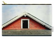 New Orleans Rooftop Architecture Fish Scales And Gingerbread Carry-all Pouch
