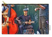 New Orleans Street Musicians Carry-all Pouch