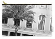 New Orleans Windows - Black And White Carry-all Pouch