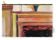 New Painting Over The Mantel Carry-all Pouch