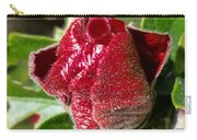 New Red Hibiscus Carry-all Pouch