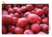 New Red Potatoes For Sale In A Market Carry-all Pouch