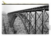New River Gorge Bridge Bw Carry-all Pouch