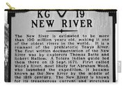 New River Historical Marker Carry-all Pouch