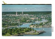 New Rochelle From The Long Island Sound Carry-all Pouch