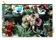 New Seahorse With Coral Imagery Carry-all Pouch