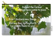 New Things Scripture Carry-all Pouch