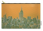 New Tork City Ny Travel Poster 4 Carry-all Pouch