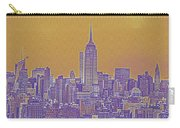 New Tork City Ny Travel Poster 5 Carry-all Pouch