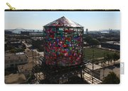 Stained Glass Water Tower In Milwaukee Carry-all Pouch
