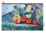 New Work Painted In Pointillism  Carry-all Pouch