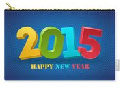 New Year 2015 Carry-all Pouch