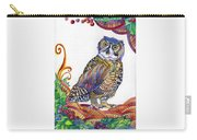 New-year Owl Carry-all Pouch