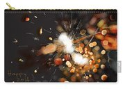 New Year Sparklers Carry-all Pouch