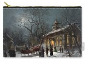 New Years Eve, C1876 Carry-all Pouch by Granger
