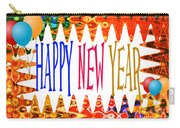 New Year's Greetings Carry-all Pouch