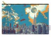 New York America  Skyline - Manhattan Carry-all Pouch