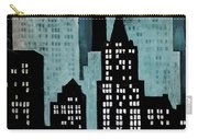 New York Art Deco Carry-all Pouch