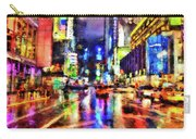 New York At Night - 14 Carry-all Pouch