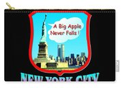 New York Big Apple Design Carry-all Pouch