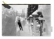 New York: Blizzard Of 1888 Carry-all Pouch