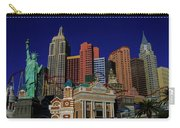 New York Casino At Night Carry-all Pouch