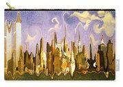 New York City 2200 - Modern Art Carry-all Pouch