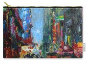 New York City 42nd Street Painting Carry-all Pouch
