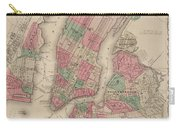 New York City, Brooklyn, Jersey City, Hoboken Carry-all Pouch