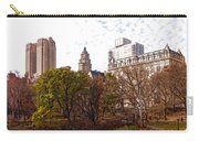 New York City Central Park Living - Impressions Of Manhattan Carry-all Pouch