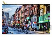 New York City Chinatown Carry-all Pouch