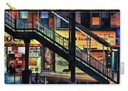 New York City Elevated Subway Stairs Carry-all Pouch